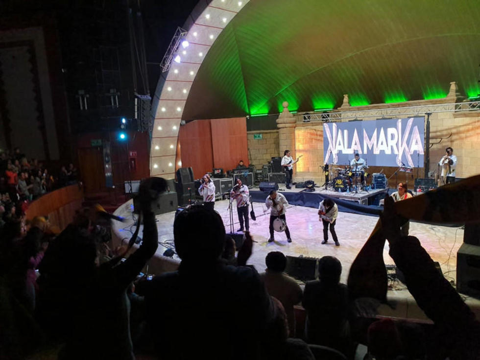Concierto de Kalamarka.