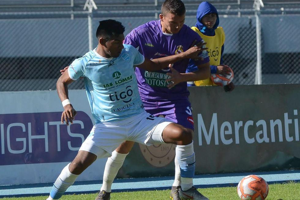 Real Potosí arrancó ganando y acabó perdiendo por 3-2