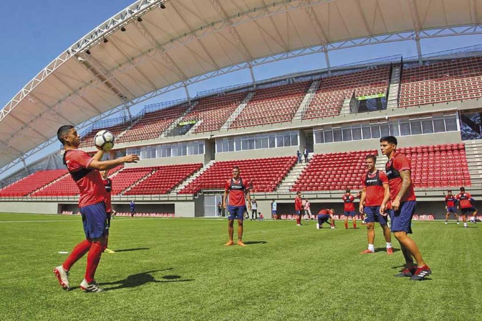 """Unión La Calera recibe al Mineiro en el estadio """"Nicolás Chahuán"""""""
