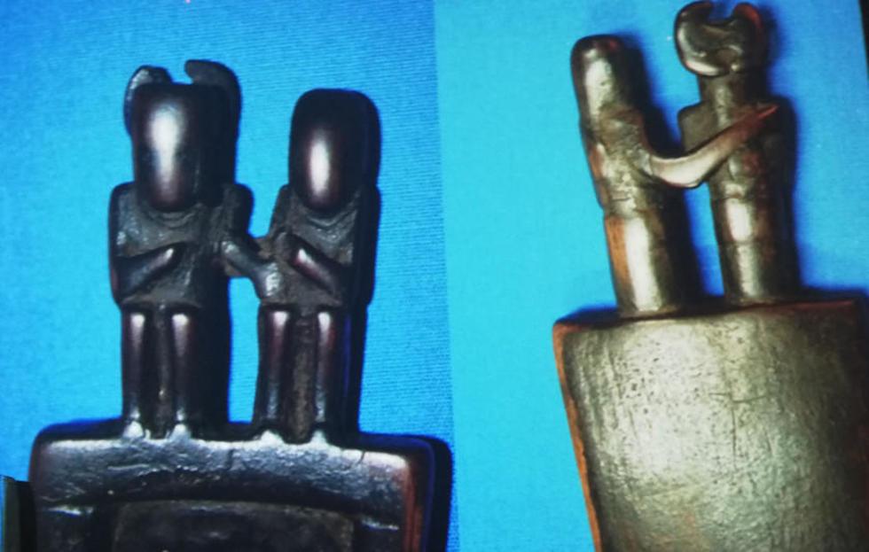 En los objetos se encontró varias referencias a la pareja.