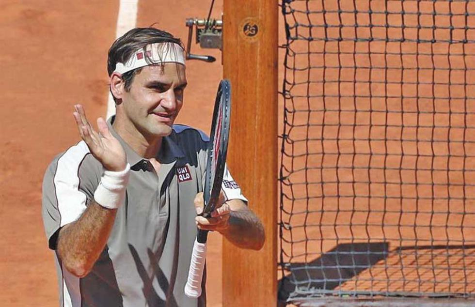 El suizo Roger Federer.