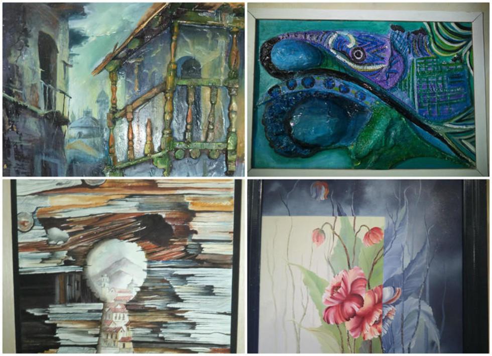 Los detalles saltan a la vista en las obras de la exposición.