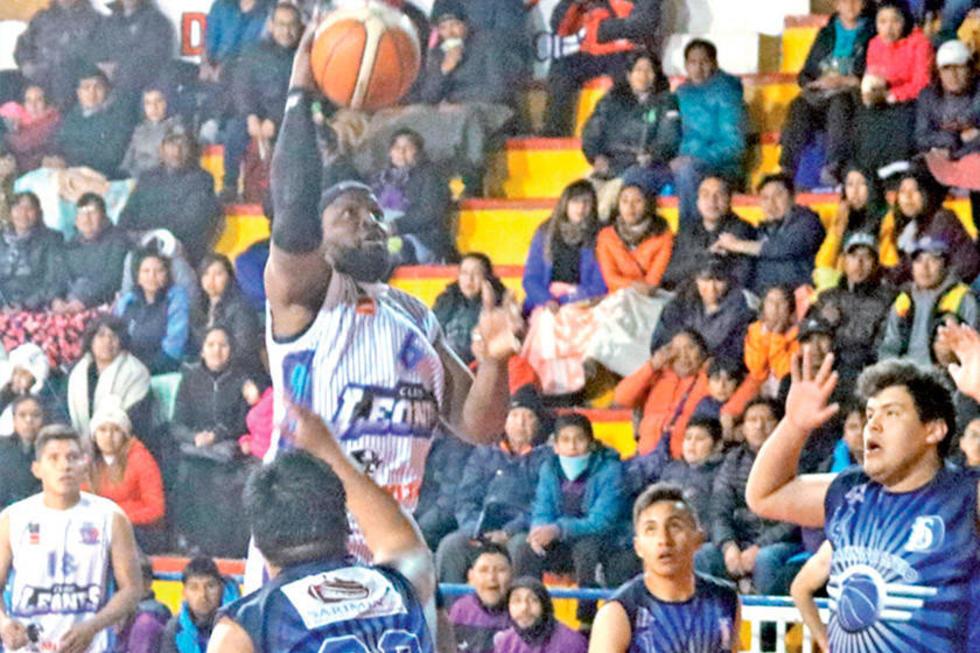 Nacional Potosí y Leones avanzan al título de básquet municipal