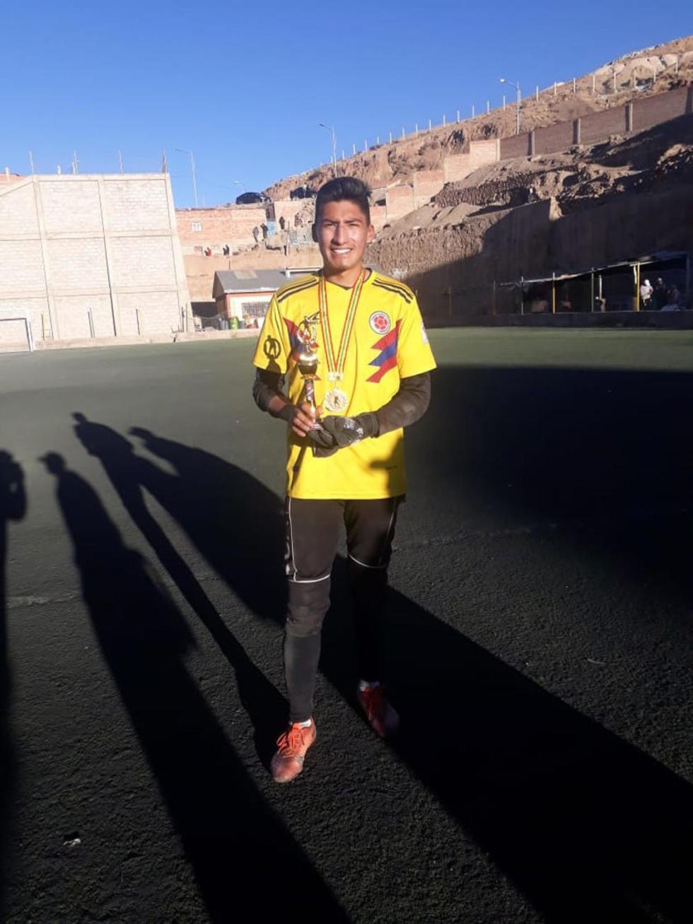 Chistopher Montalvo, de San Lorenzo, tuvo la portería menos vencida del torneo.