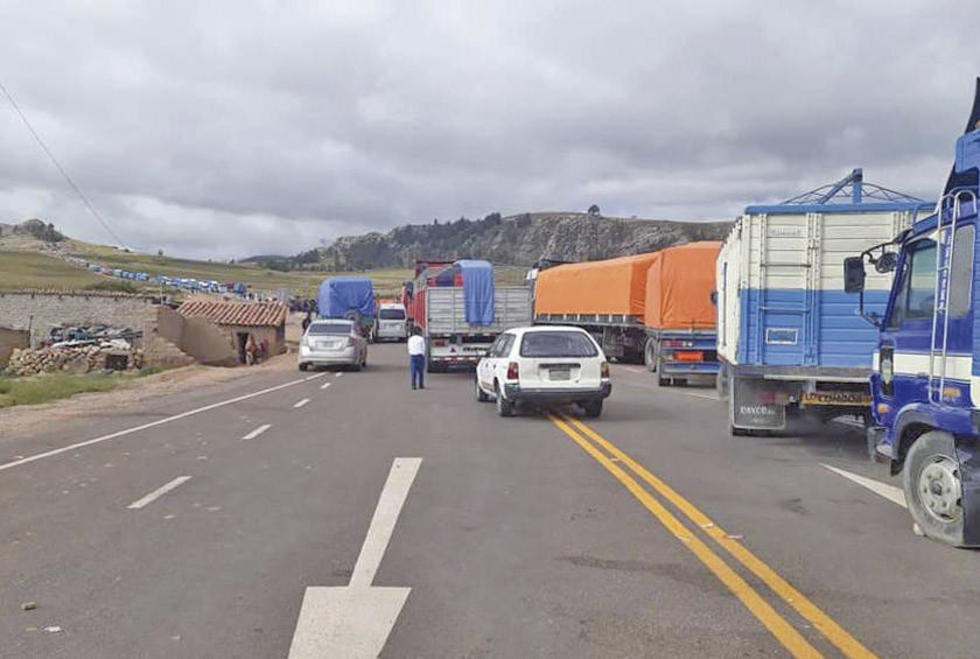 Así está la vía Diagonal Jaime Mendoza.