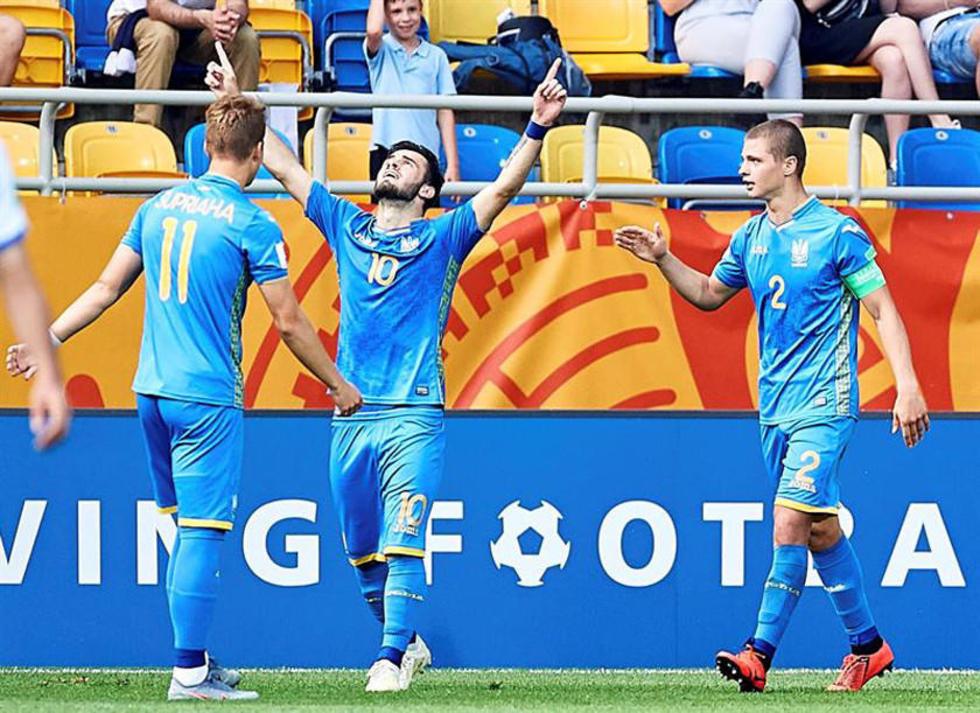 Ucrania venció a Italia en semifinales.