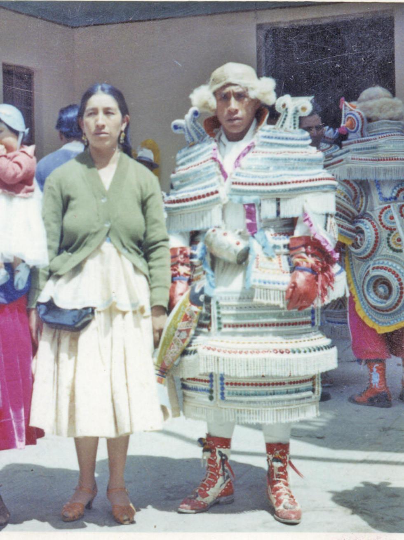 Honoria Oquendo y Basilio Nina en 1962.