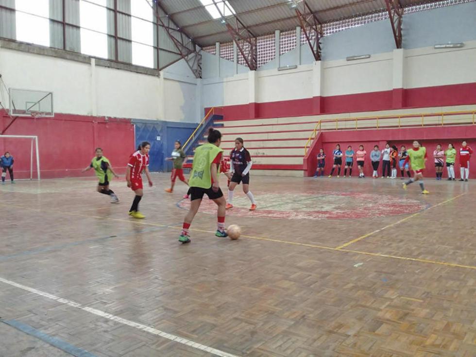 La preselección de futsal femenino arranca hoy con sus entrenamientos