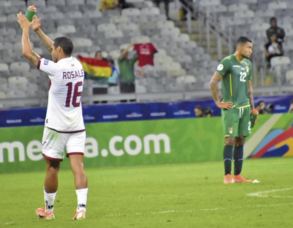 Bolivia se va sin puntos de la Copa América