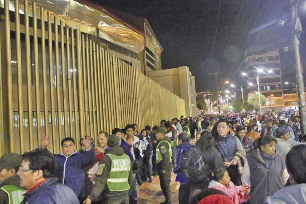 Dirigentes de la Vieja Casona esperan una gran asistencia de público.