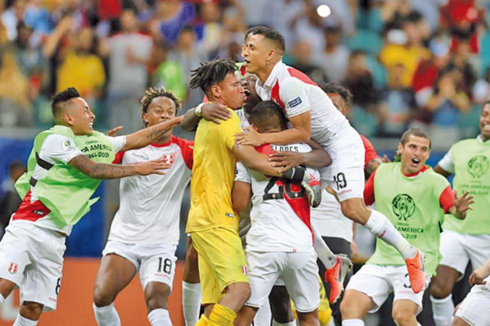 Perú derrota a Uruguay y va a semifinales con los penales