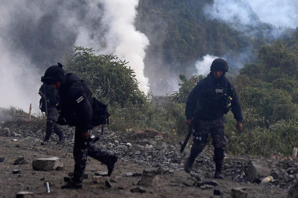 Envían presos a cuatro cocaleros detenidos con dinamita