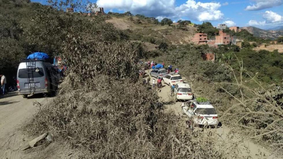 Todavia existen puntos de protesta en algunas comunidades de Yungas.