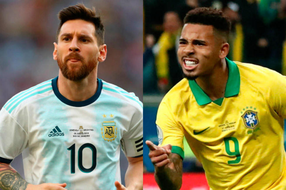 Brasil y Argentina se juegan su pase a la final de la Copa