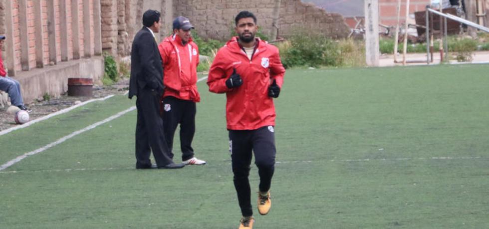 El jugador colombiano Harold Reina