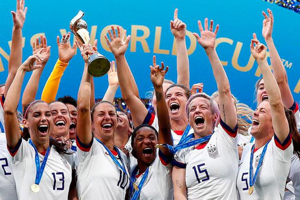 EE.UU. se consagra campeón mundial femenino de fútbol