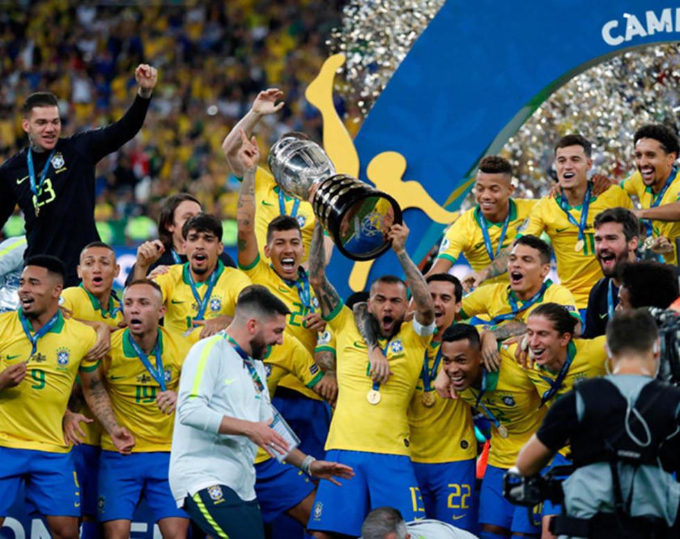 Brasil es el campeón de la Copa América por novena vez