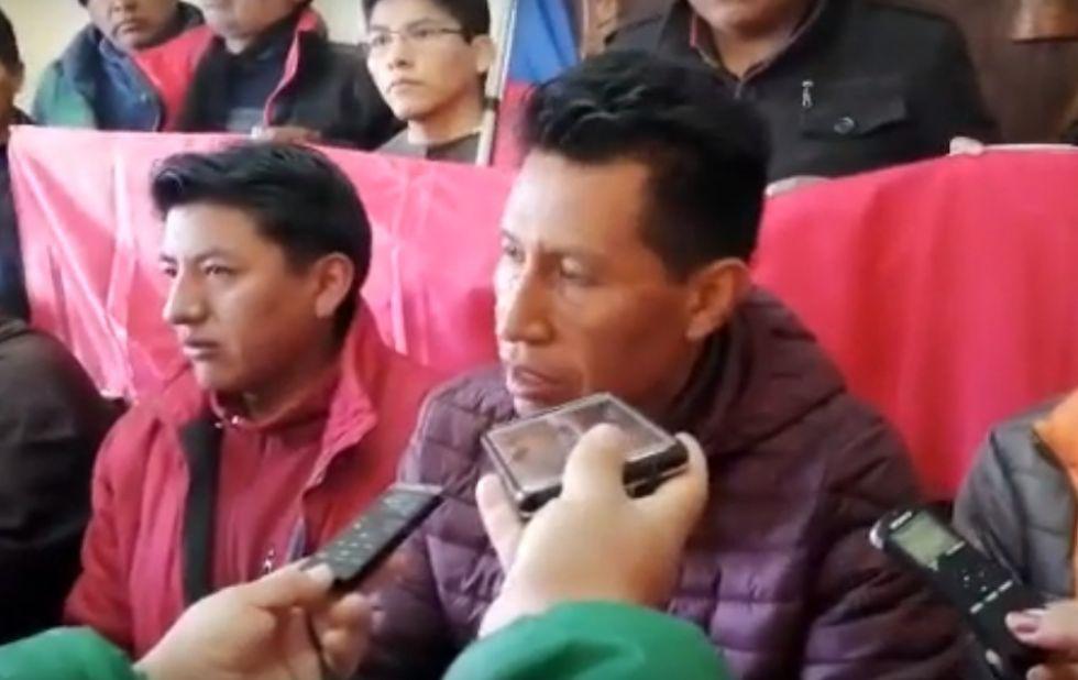 Edwin Rodríguez renuncia a su candidatura a la Vicepresidencia