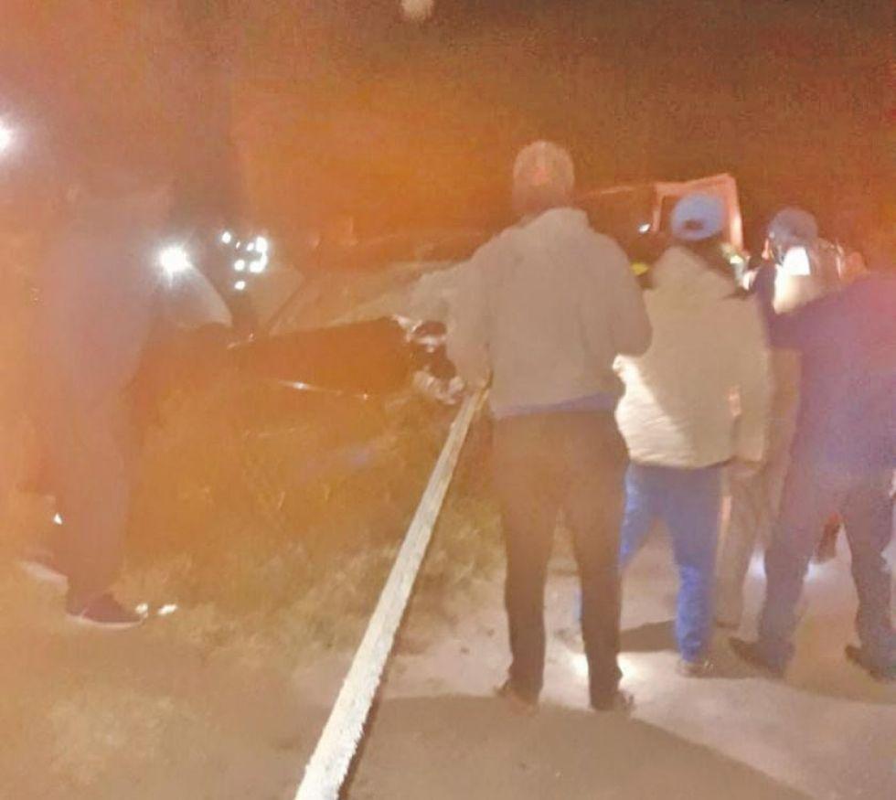 Accidente en camino Potosí-Sucre deja heridas a tres personas