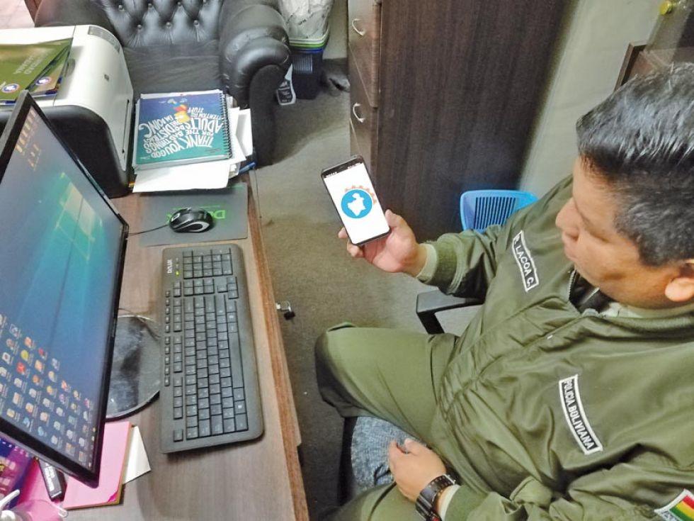 """Crean las patrullas de  funcionarios para usar aplicación """"Yo denuncio"""""""