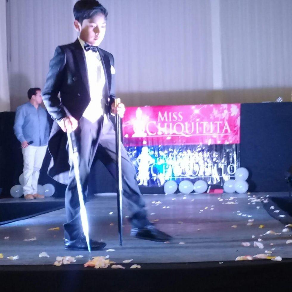 Potosí logra el título de Mister Chiquitito 2019