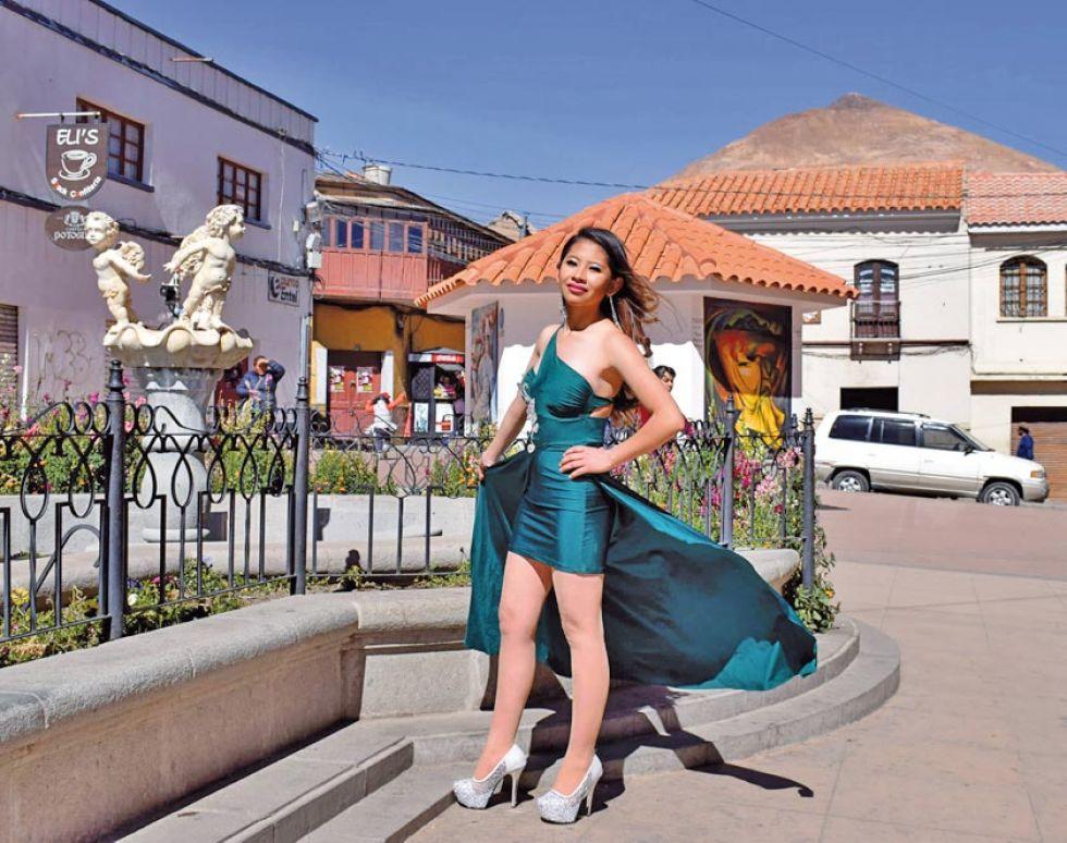 Nicol Morales, Miss Villa Imperial Teenager.
