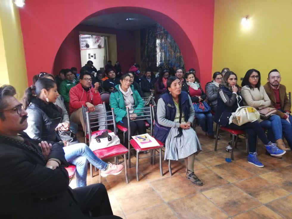 Periodistas se capacitaron en taller de tratamiento periodístico sobre niñez en riesgo social