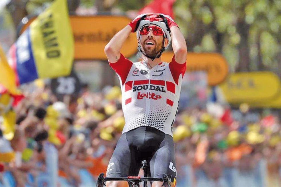 De Gendt gana la etapa y Alaphilippe recupera el liderato del Tour de Francia