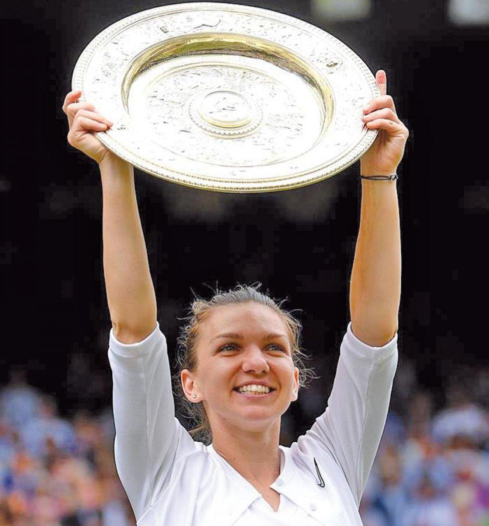Halep conquista su primer Wimbledon