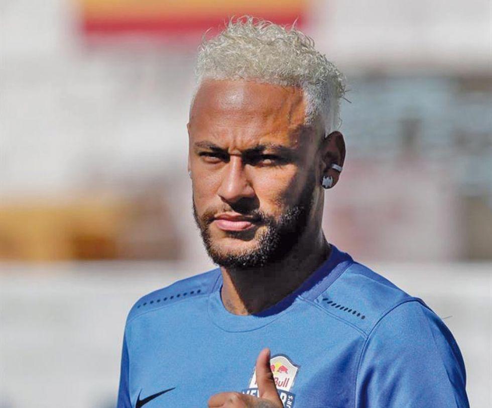 Neymar está casi recuperado de la lesión