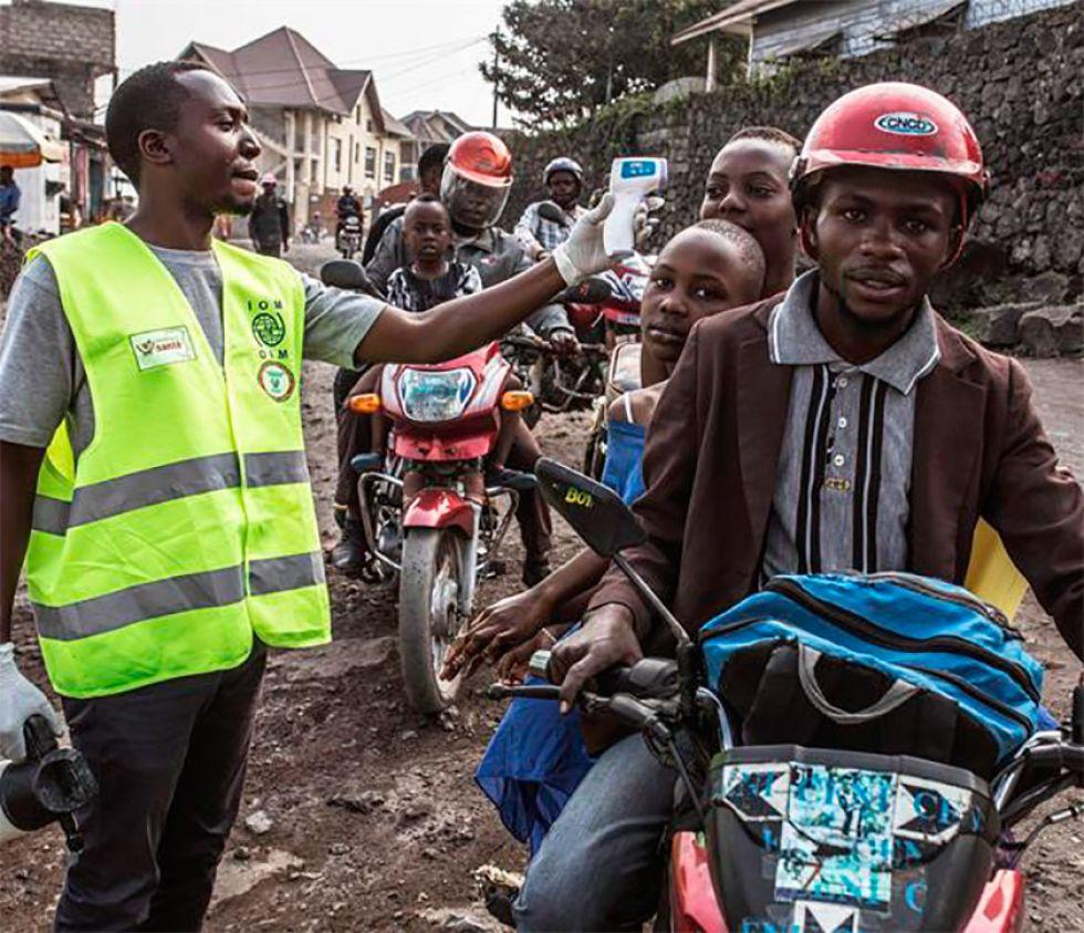 Brote de ébola llega a la capital de la  República de Congo