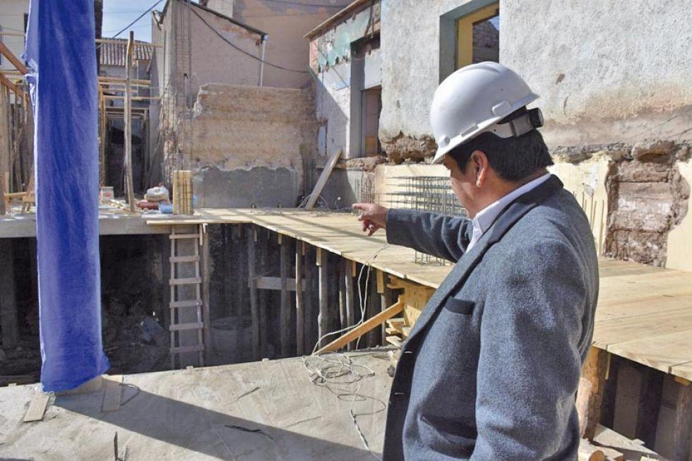 Avanzan obras del edificio que perteneció a Correos