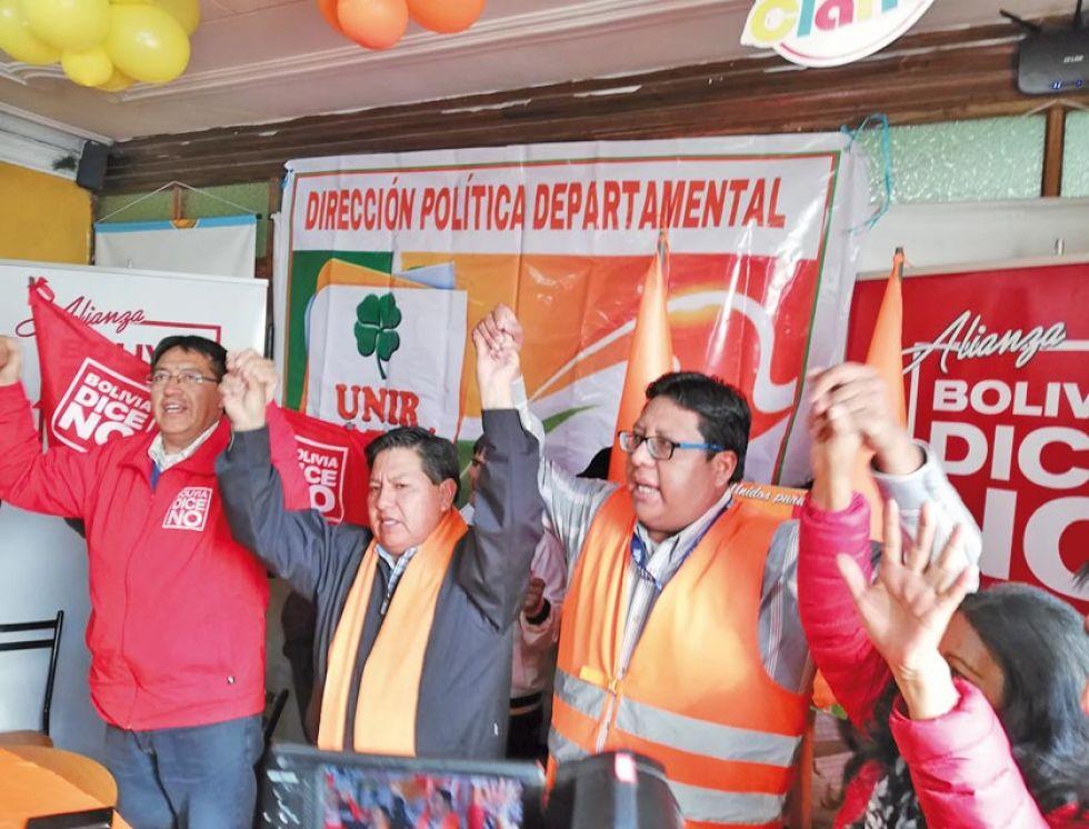Bolivia Dice No sella pacto con ex militantes de UN