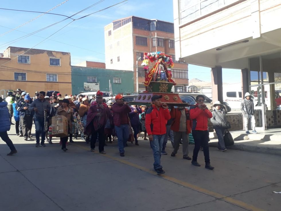 Ya está en Potosí.