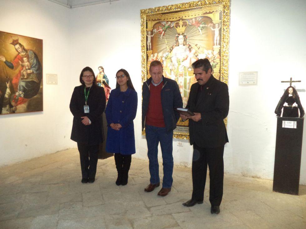Inauguran muestra con la imagen de la Virgen María