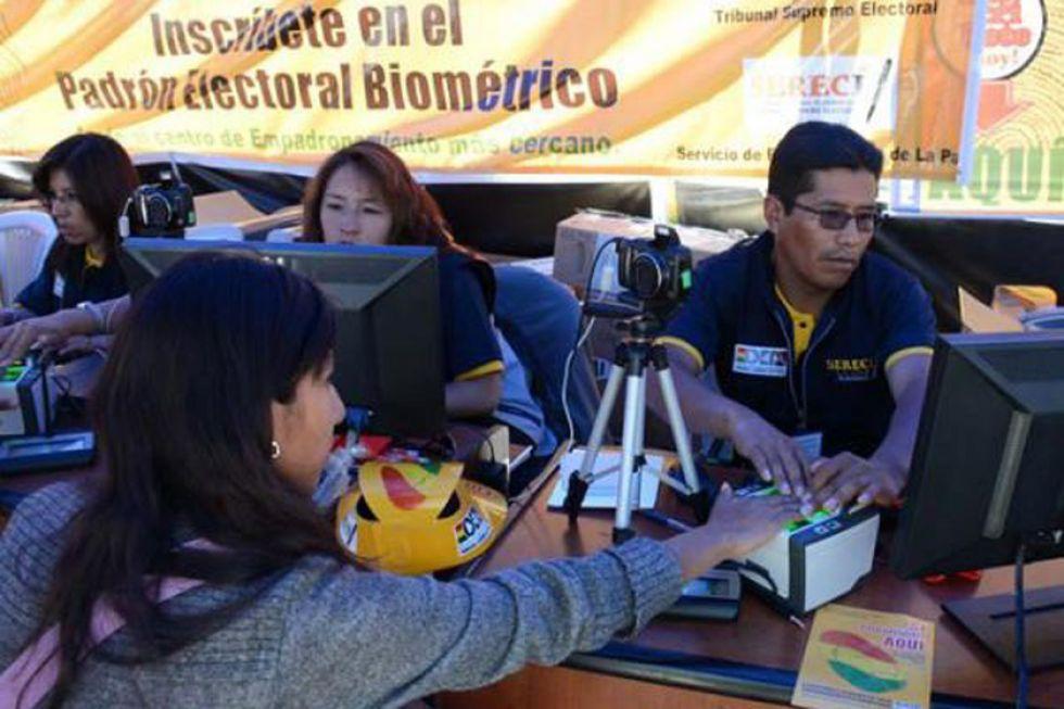 El padrón electoral de Potosí aumentó un 41.2 % en 20 años