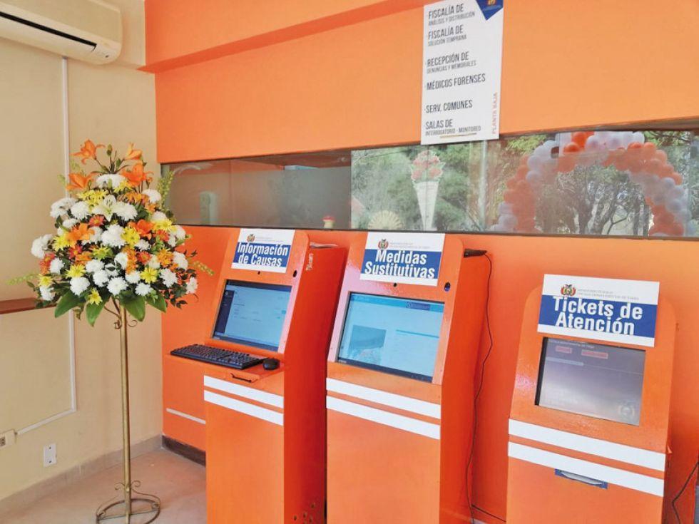 Fiscalía de Tarija inauguró una plataforma de atención integral al público
