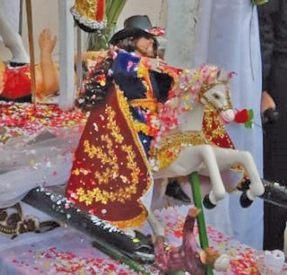 El Tata Santiago de Chaquí vino por segunda vez
