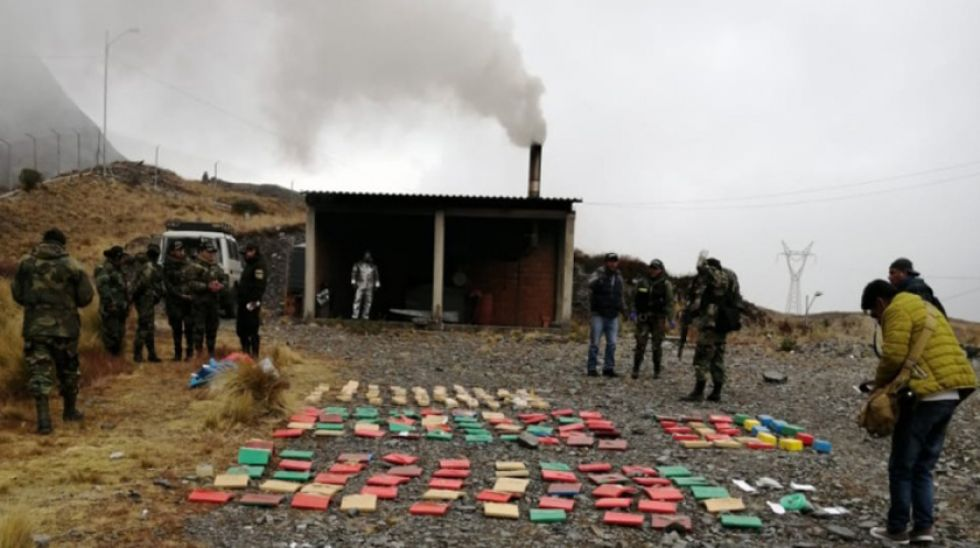 La Felcn destruye 308 kilos de droga