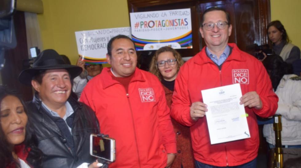 Bolivia Dice No inicia el reemplazo de Edwin Rodríguez