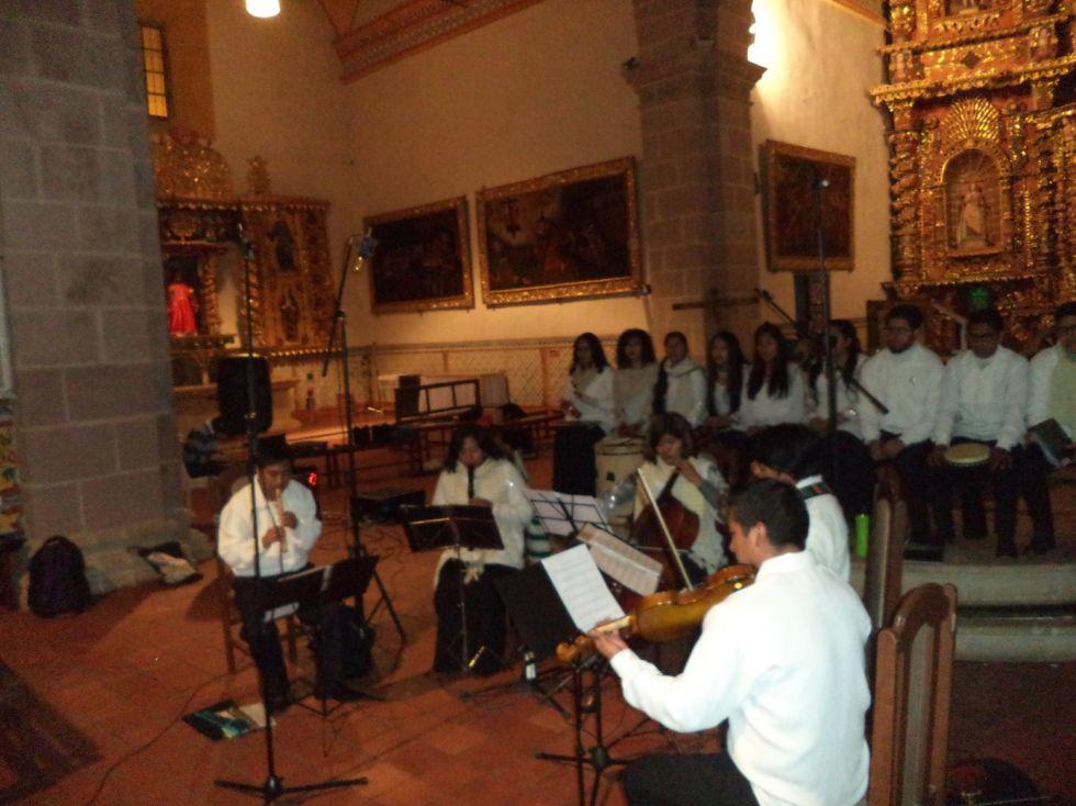 San Benito vivió la música barroca