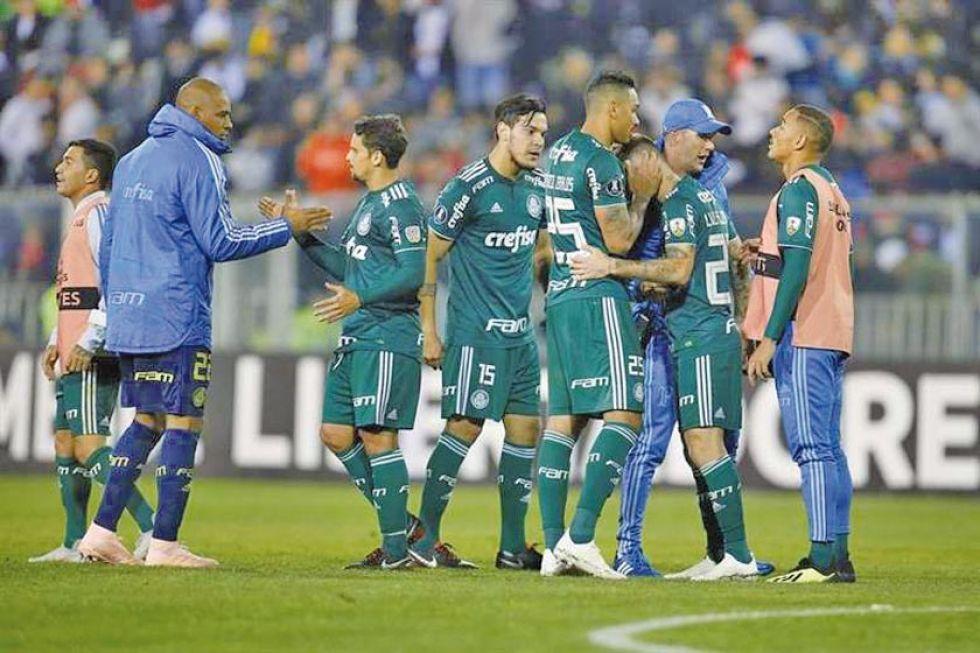 Palmeiras pierde ante Ceará de Fortaleza