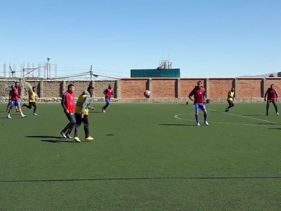 Nacional Potosí retorna a sus entrenamientos