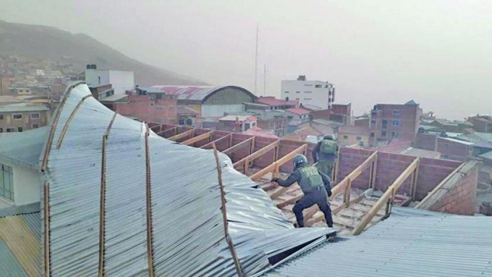 Se declara alerta por vientos en trece regiones de Potosí