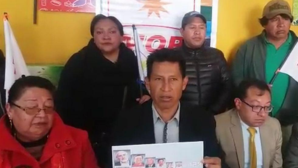 Edwin Rodríguez dice que encuesta demuestra que Evo puede ser derrotado