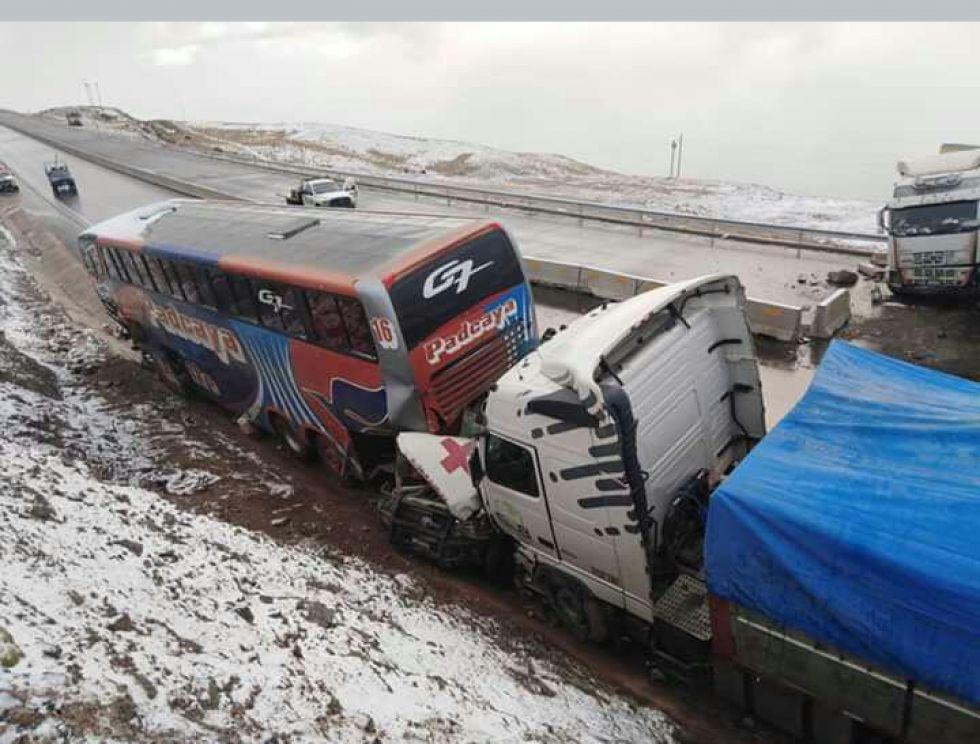 El accidente ocurrió por la mañana.