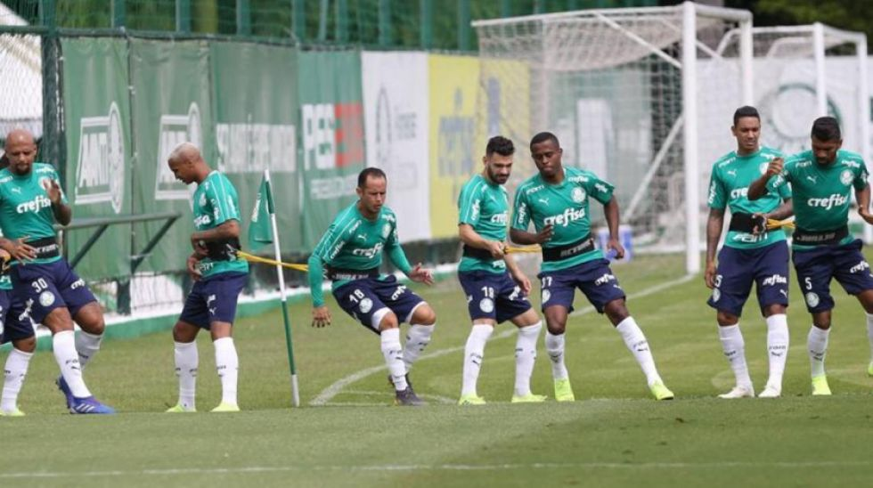 Palmeiras tiene un desafío en los Andes argentinos para escalar en la Copa