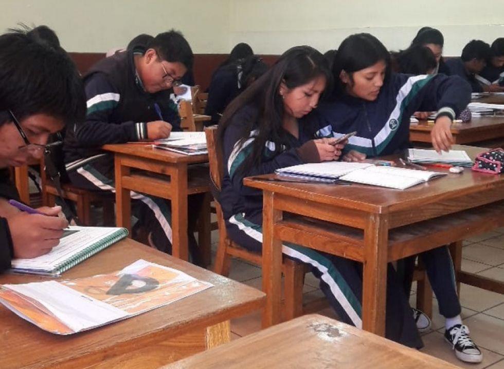 En algunas unidades educativas pasaron clases.