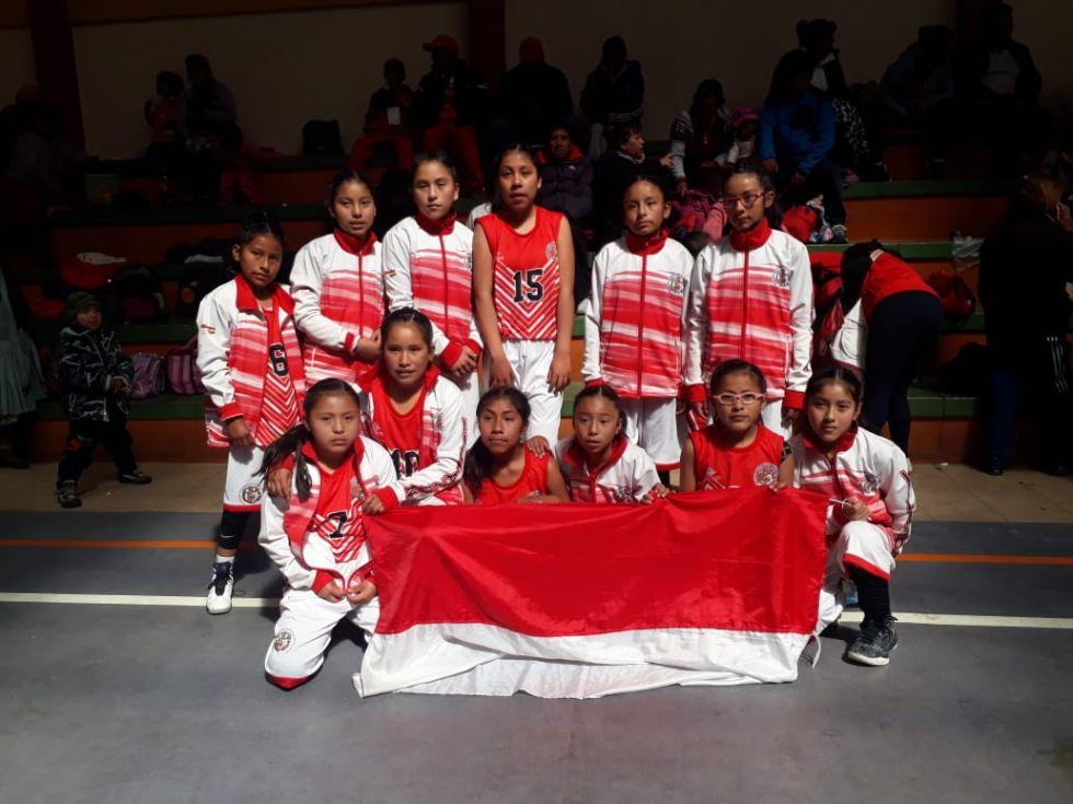 Las estudiantes de Villazón ganaron.