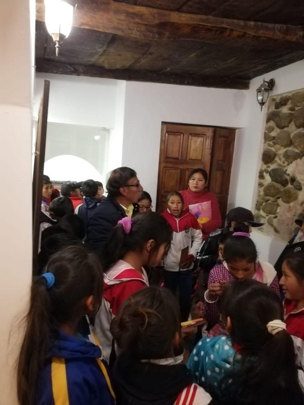 Visitaron la Gobernación